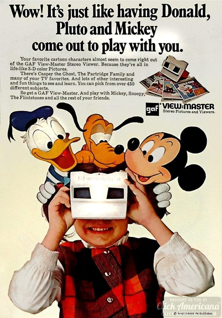 Wow! It's just like having Donald, Pluto and Mickey come out to play with you.