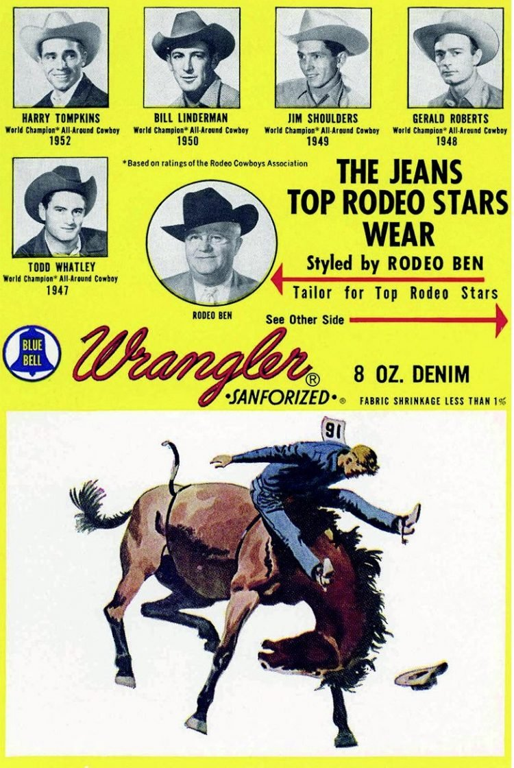 Wrangler Jeans and rodeo
