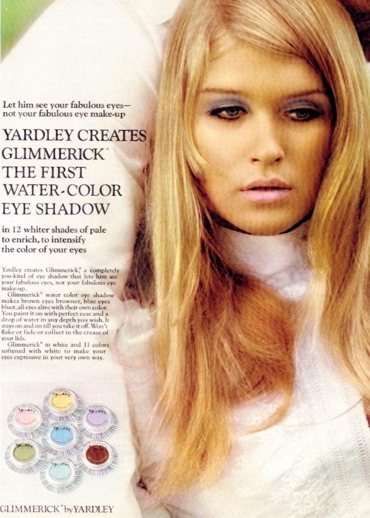Yardley Glimmerick eye shadow 1968