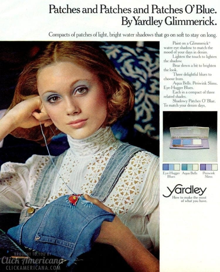 Yardley Patches O'Blue (1973)
