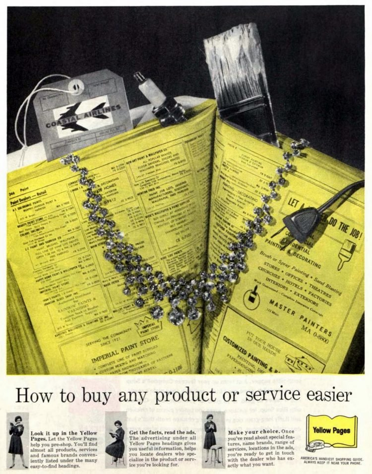 Yellow Pages 1961