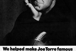Yellow Pages made Joe Torre famous for football (1976)