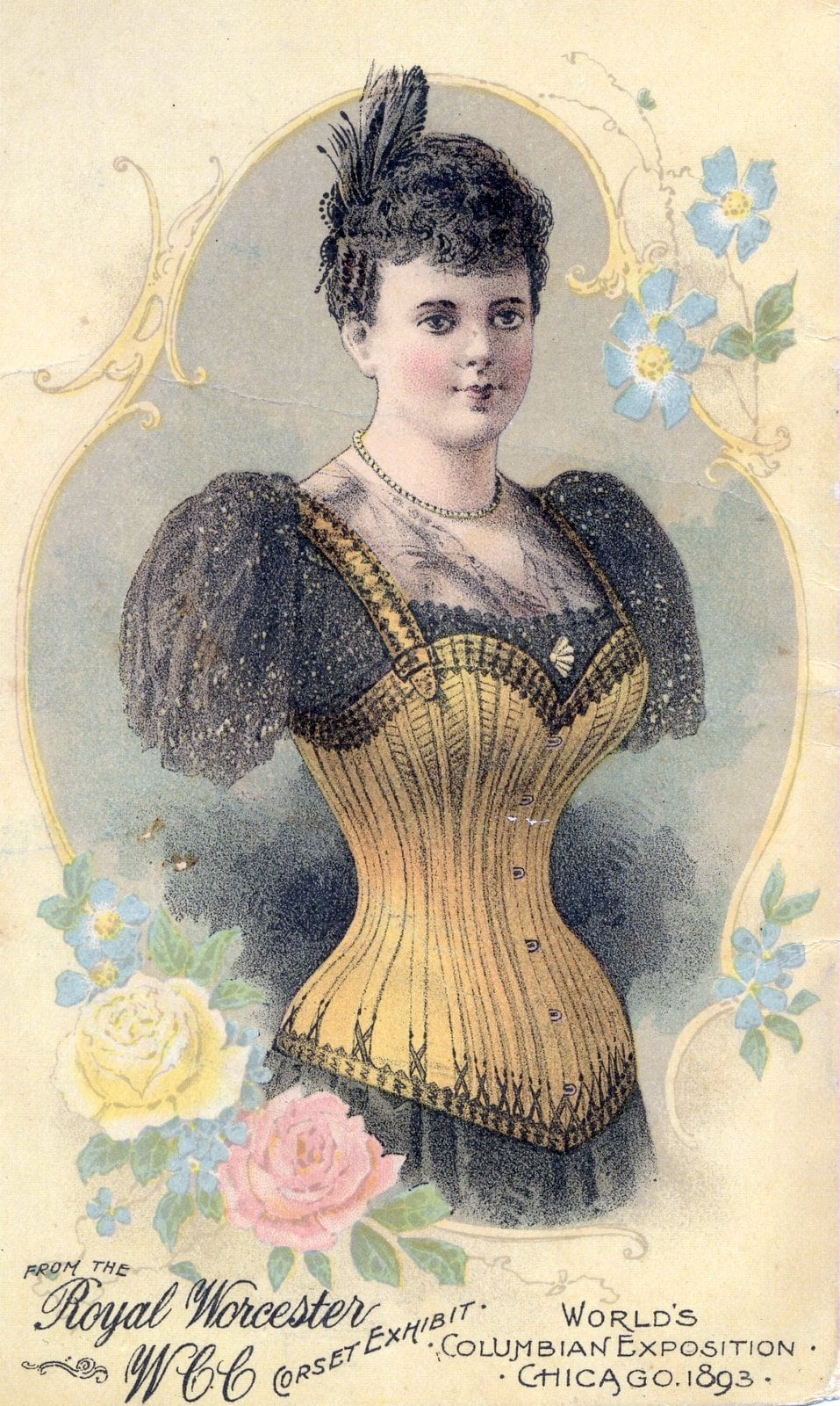 Worcester Corset Co. 1893
