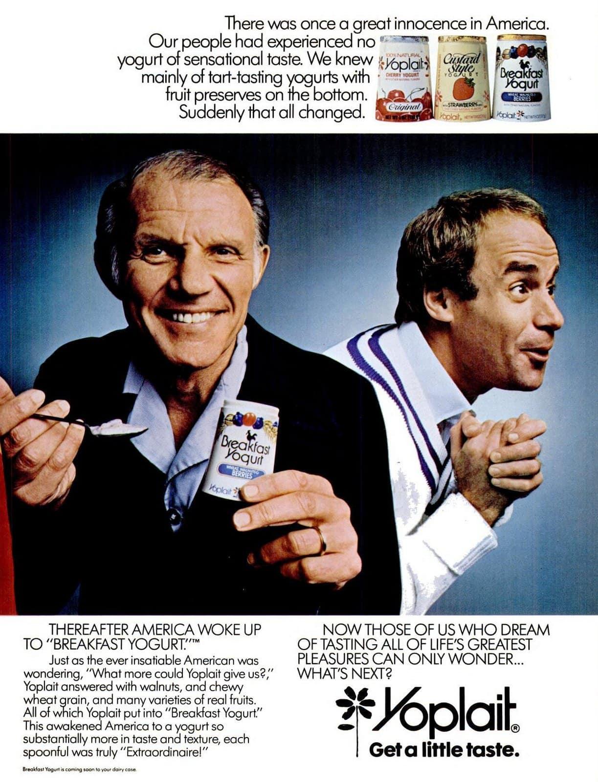 Yoplait Yogurt (1983)