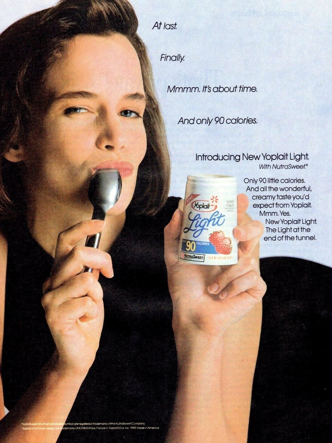 Yoplait Light Yogurt (1989)