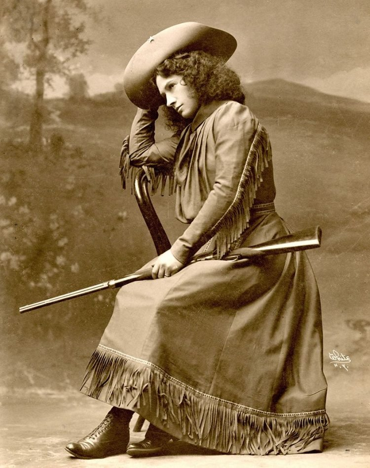 Young Annie Oakley