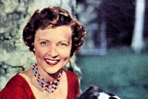 Young Betty White - Pictures of the actress from the start of her career