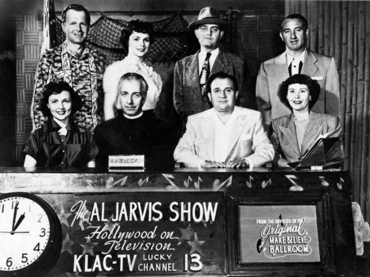 Young Betty White on the Al Jarvis Show