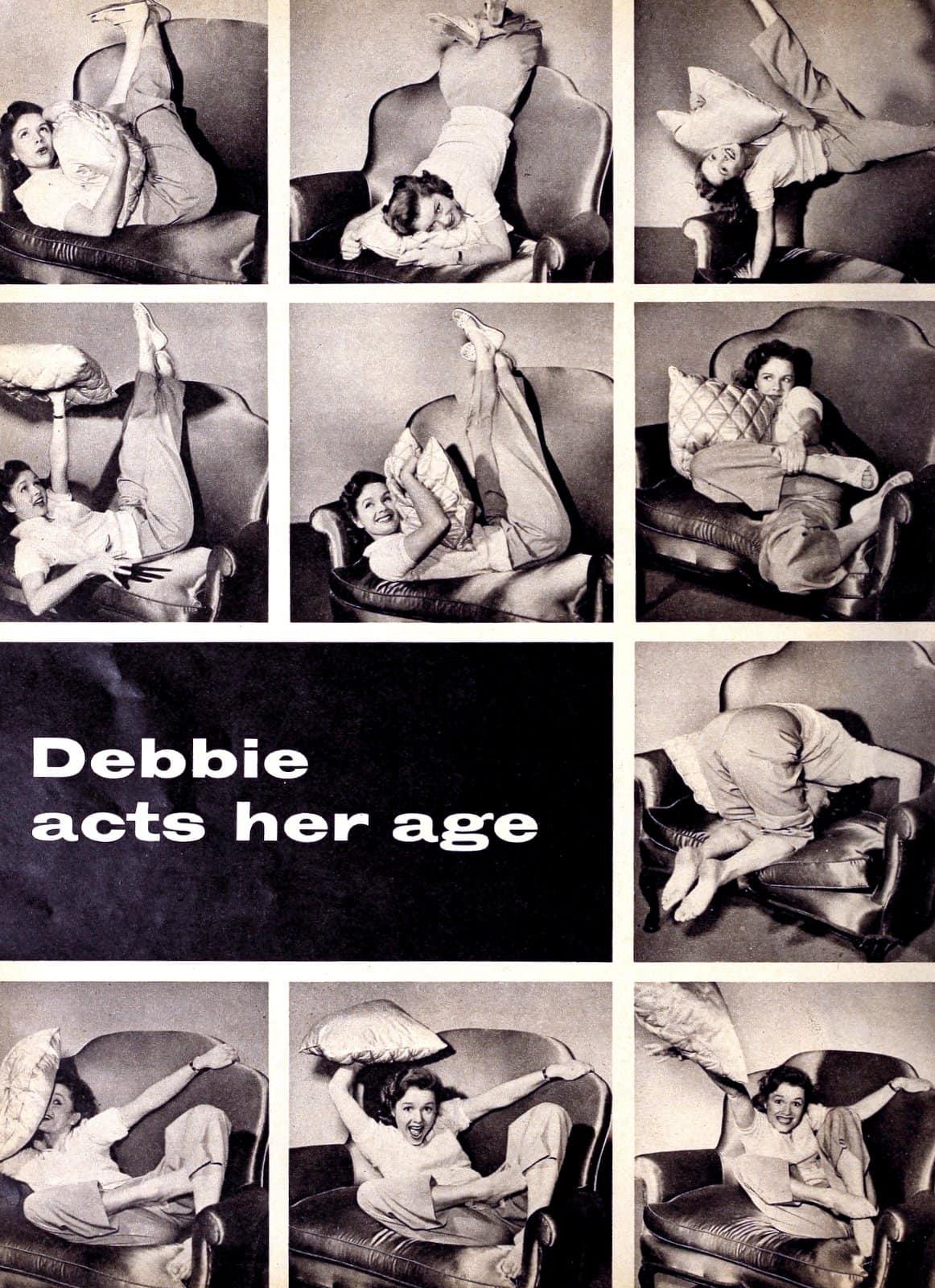 Young Debbie Reynolds in 1952 (2)