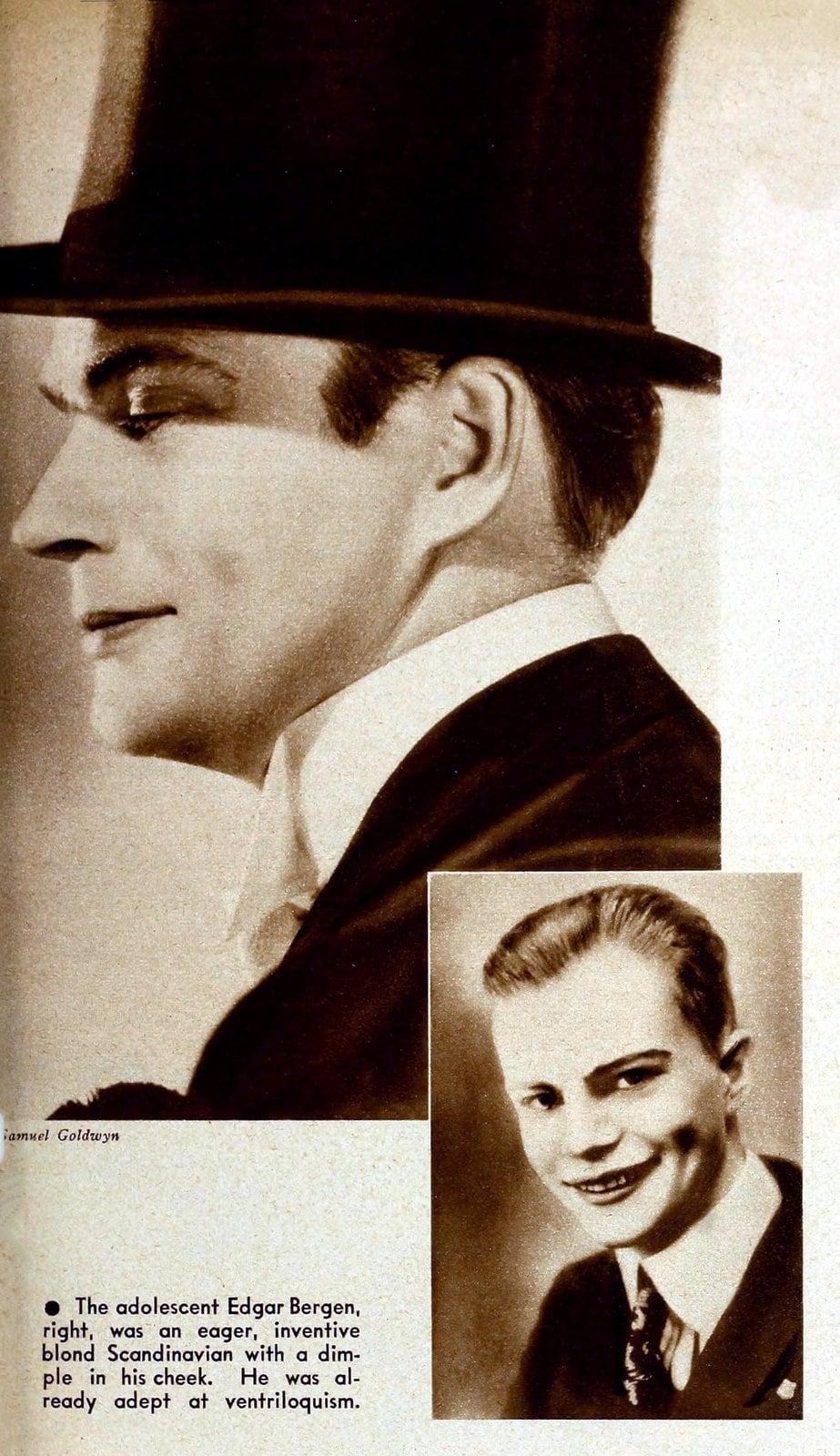 Young Edgar Bergen