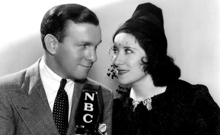 Young George Burns and Gracie Allen