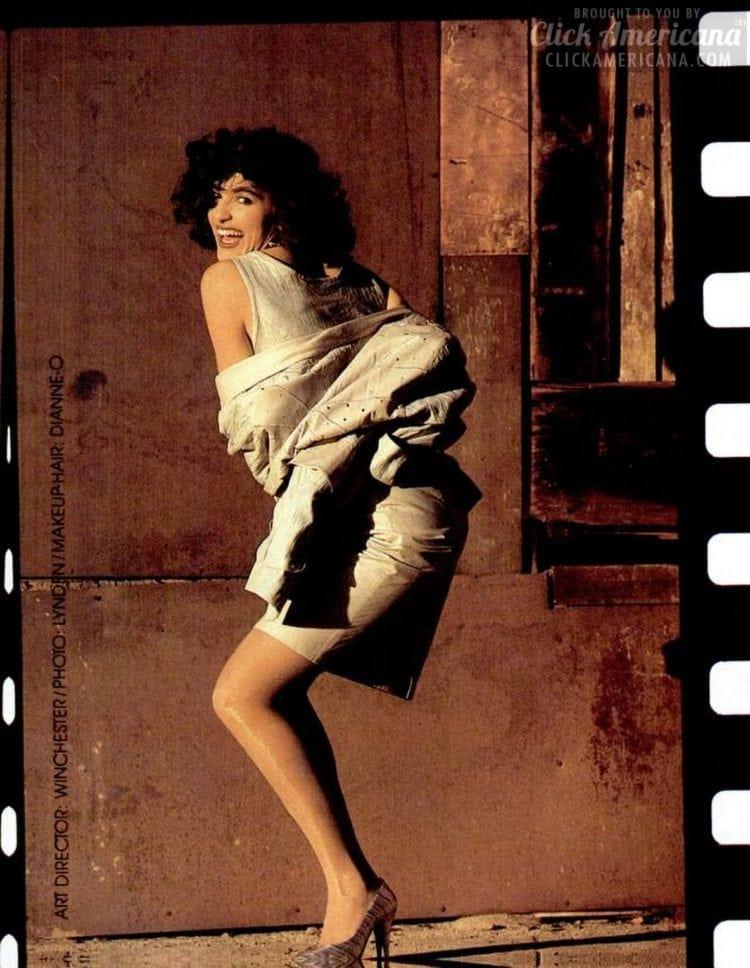 Young Mariska Hargitay 1988