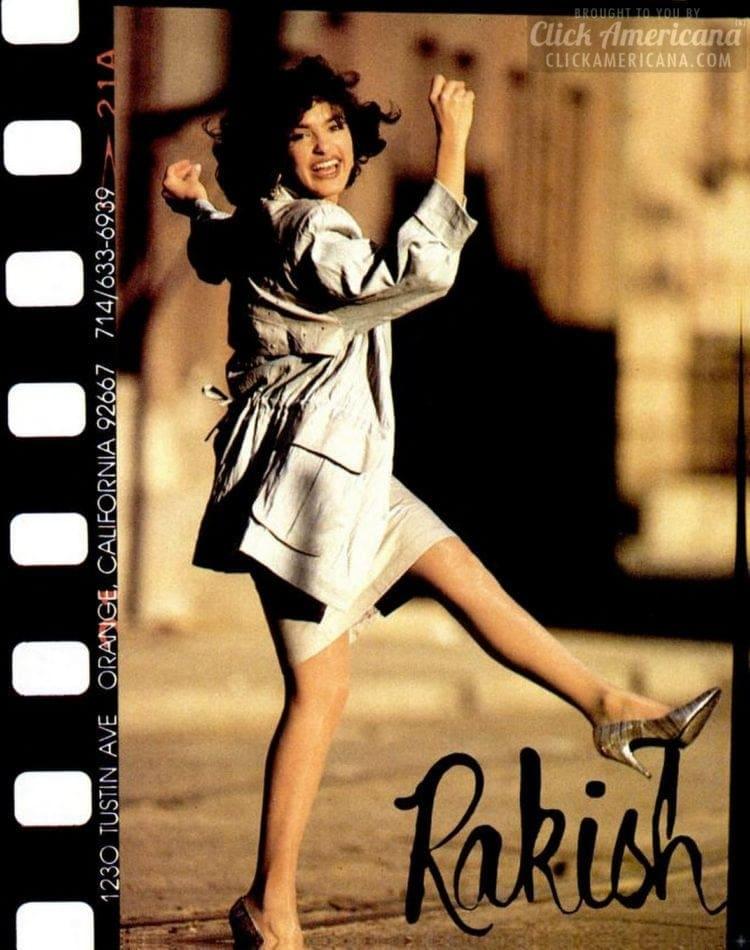 Mariska modeling in 1988