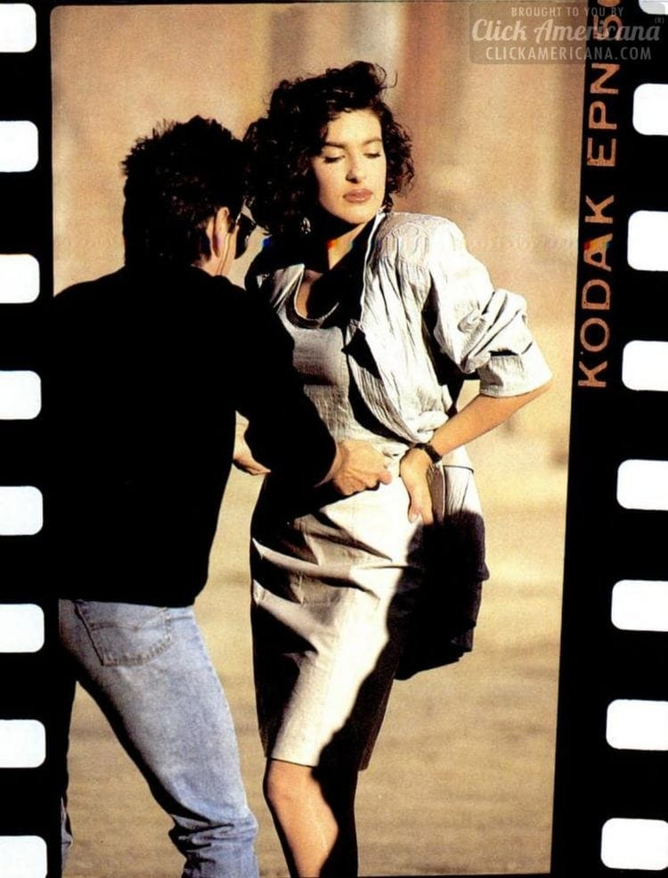 Young Mariska Hargitay 1988 (4)