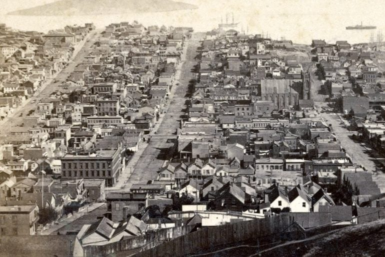 Panorama from Russian Hill, San Francisco. (No. 8.) 1867
