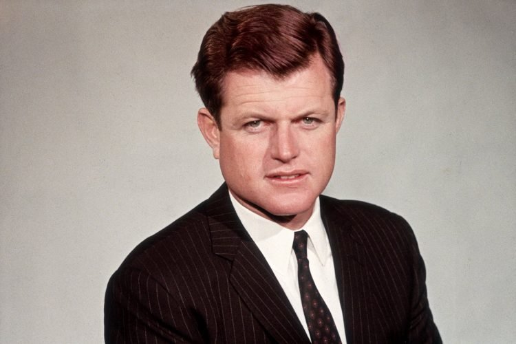Young Ted Kennedy portrait