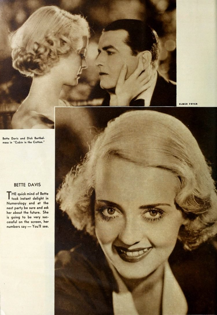 Young actress Bette Davis in the 1930s (1)