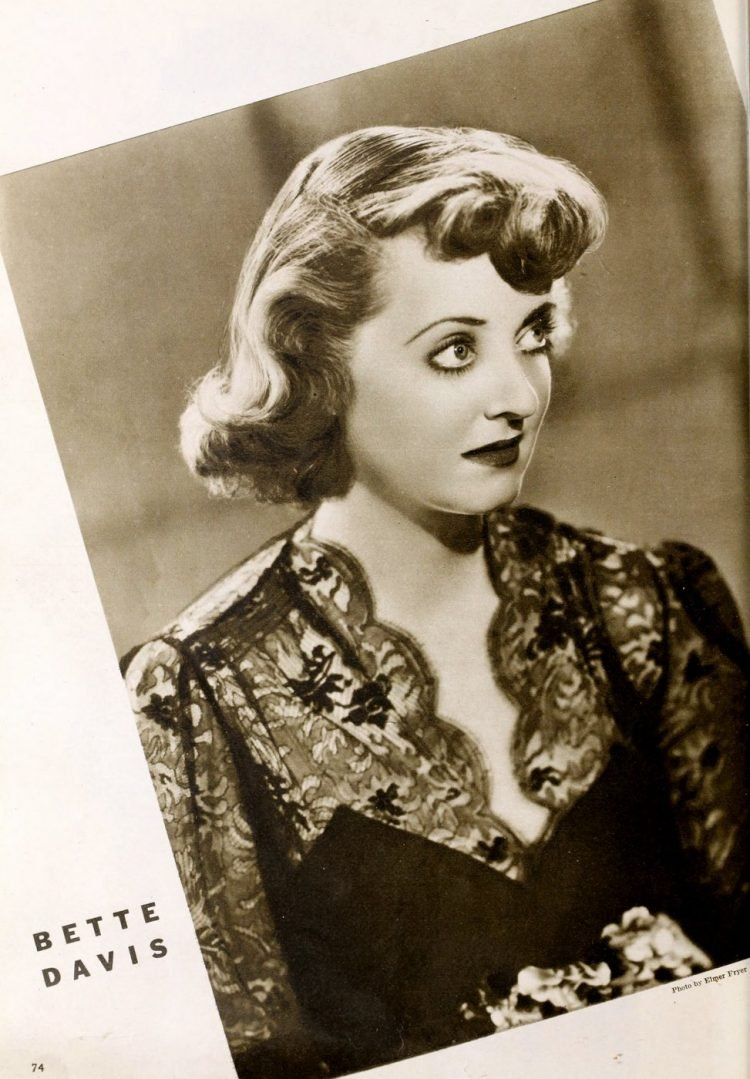 Young actress Bette Davis in the 1930s (2)