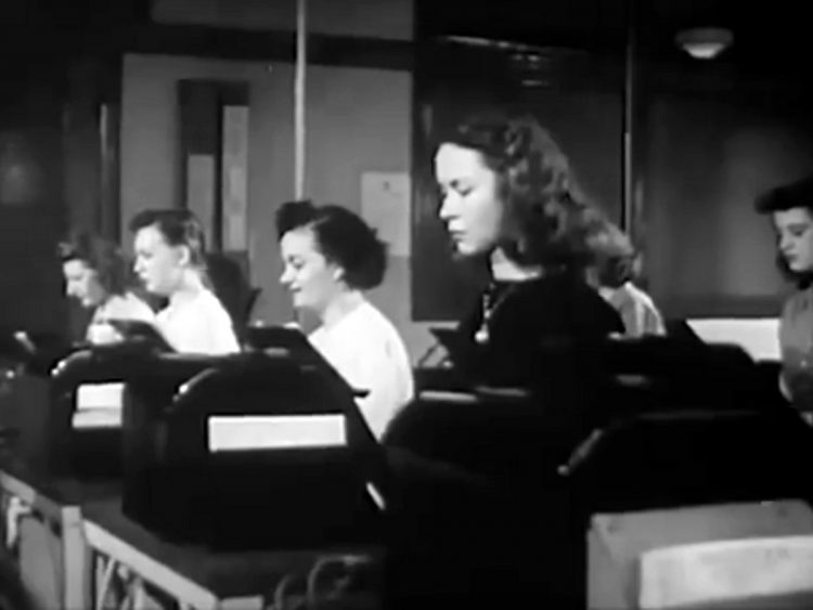 Your life work series Telephone and telegraph training film from 1946 (4)