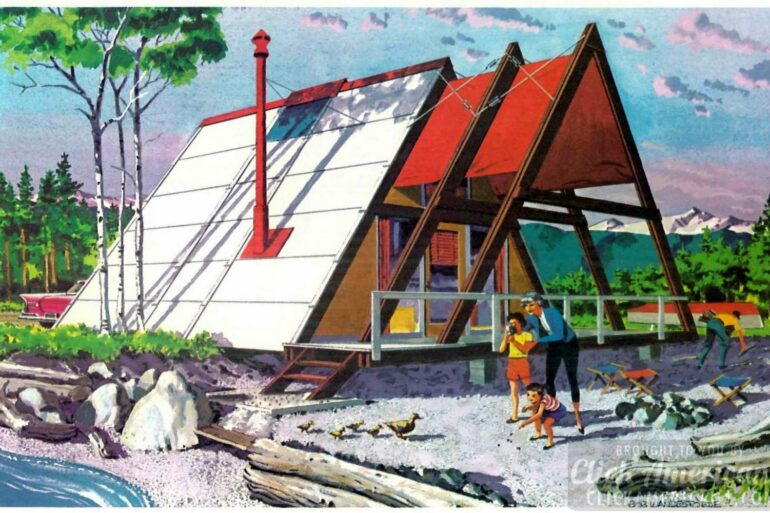 Your second home The Ranger A-Frame cabin from 1960