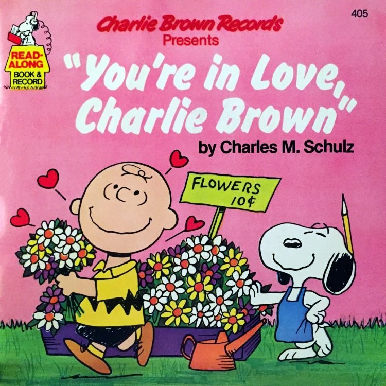 You're in Love, Charlie Brown - Book and record
