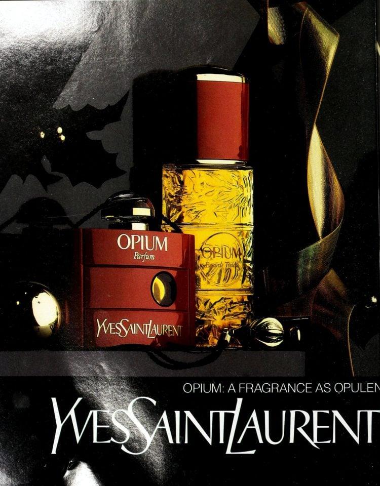 Yves Saint Laurent Opium fragrance - 1988 (1)