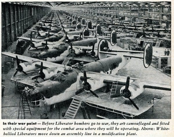 WWII military aircraft news & trivia (1943)