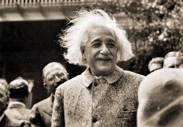 Einstein says don't give Russia A-bomb secret (1945)