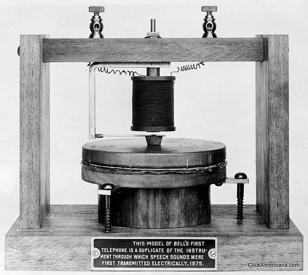Where the telephone was born (1875)