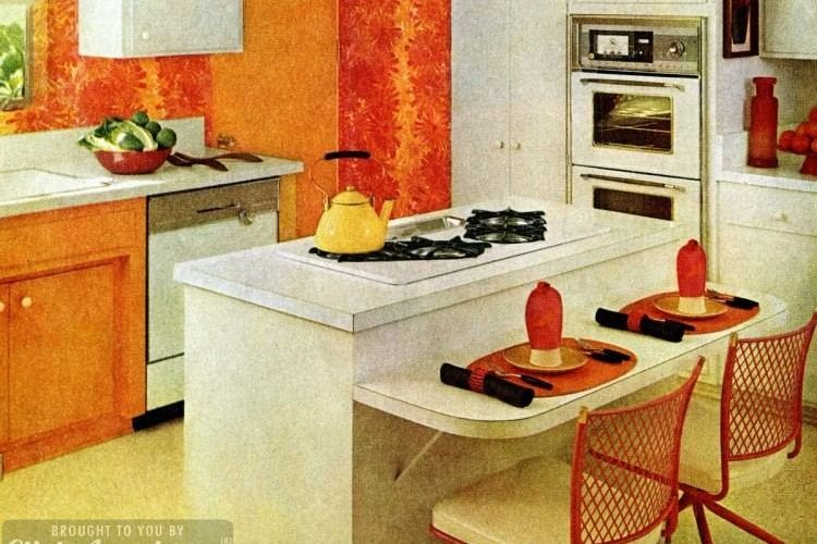 Kitchen decor: Cooking on a sunny island (1965) - Click ...