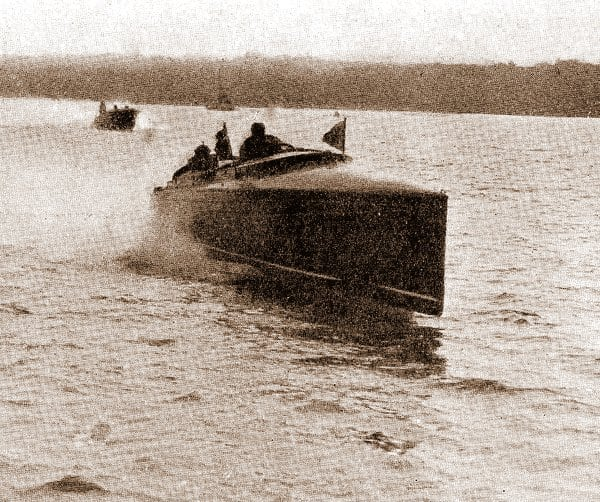 Through the water at fifty-seven miles an hour (1913)