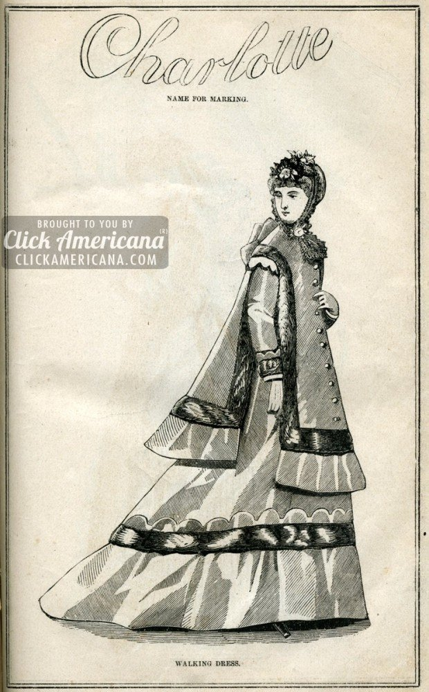antique-artwork-woman-dress-charlotte-1869