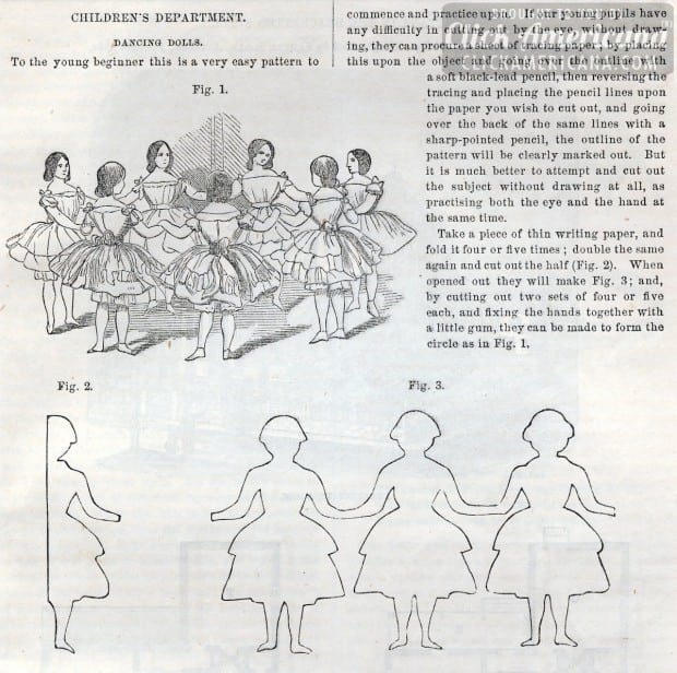 antique-craft-Patterns to cut and make Dancing Dolls (2)