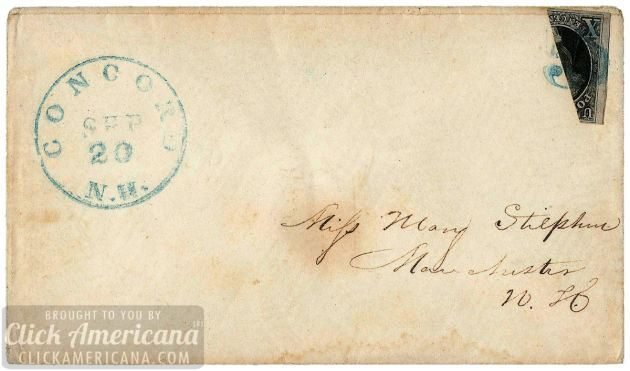 antique-envelope-Concord N.H. Sep. 20 1850