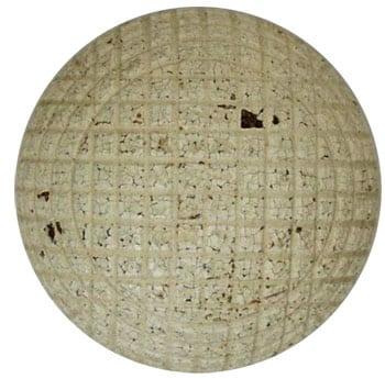 Antique golf ball
