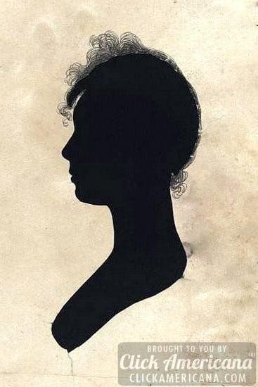 antique silhouette woman 1760-1830 (1)