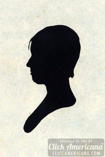 antique silhouette woman 1760-1830 (8)