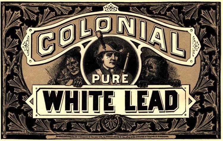 antique victorian labels signs paint 1870 1880 (1)