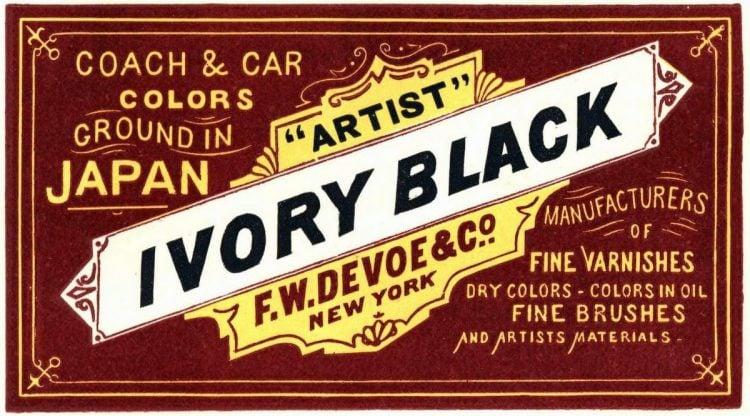 antique victorian labels signs paint 1870 1880 (18)