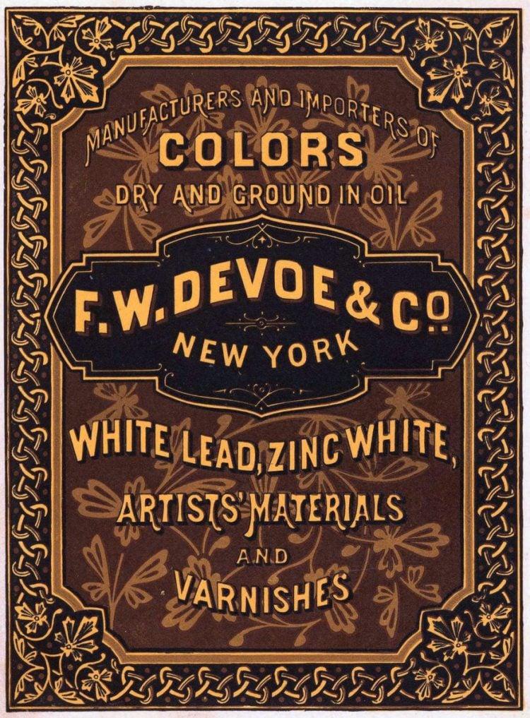 antique victorian labels signs paint 1870 1880 (21)