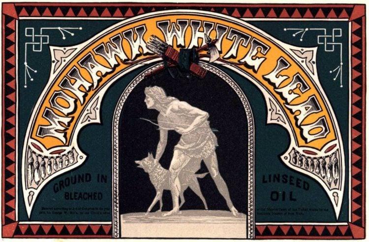 antique victorian labels signs paint 1870 1880 (3)