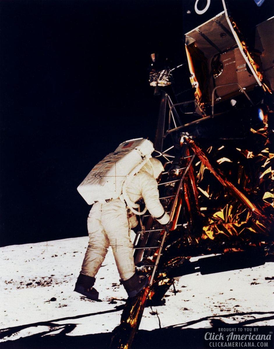 Moon landing video & transcript (1969)