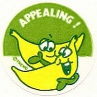 appealing-scratch-sniff-banana-sticker