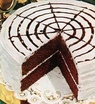 Devil's food whirligig cake (1950)