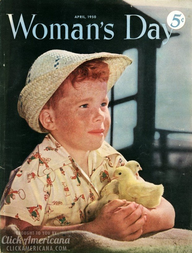 Woman S Day Magazine Covers From 1950 Click Americana