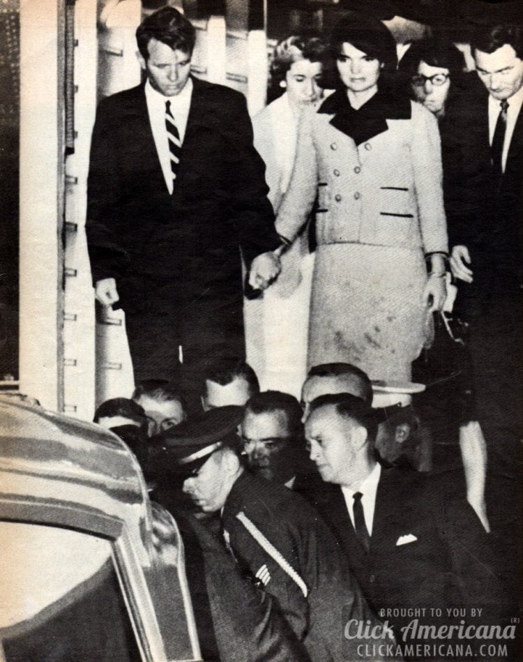 The assassination of President Kennedy