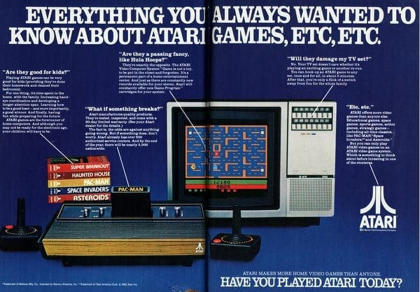 Everything you want to know about Atari (1982)