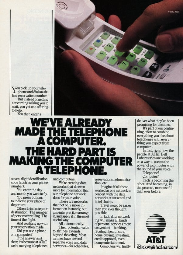 AT&T on the future of data networking (1987)
