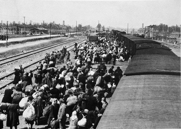 Auschwitz train - Concentration camp