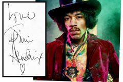 Autographs from 11 lost music legends